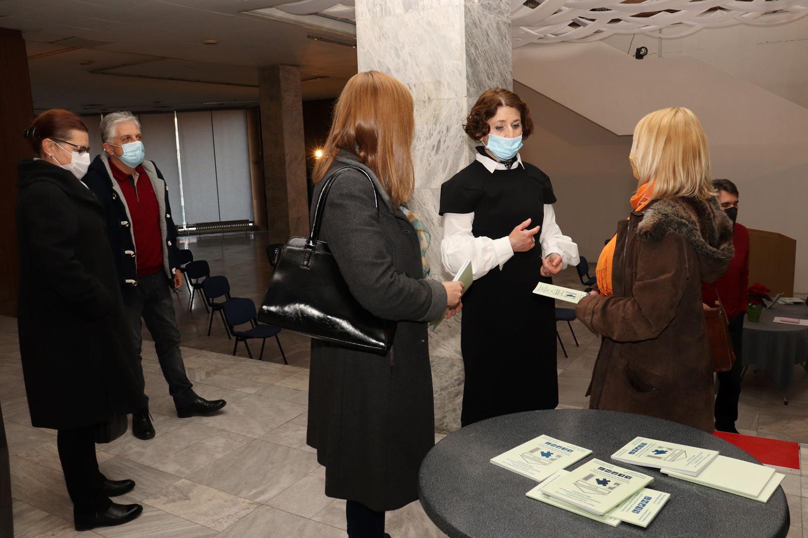 """Промоција на прирачникот """"Водич за лица со попреченост при посета на музеите"""""""