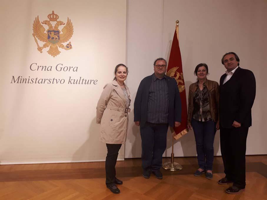 Размена на изложби помеѓу Музејот на Македонија и Народниот музеј на Црна Гора