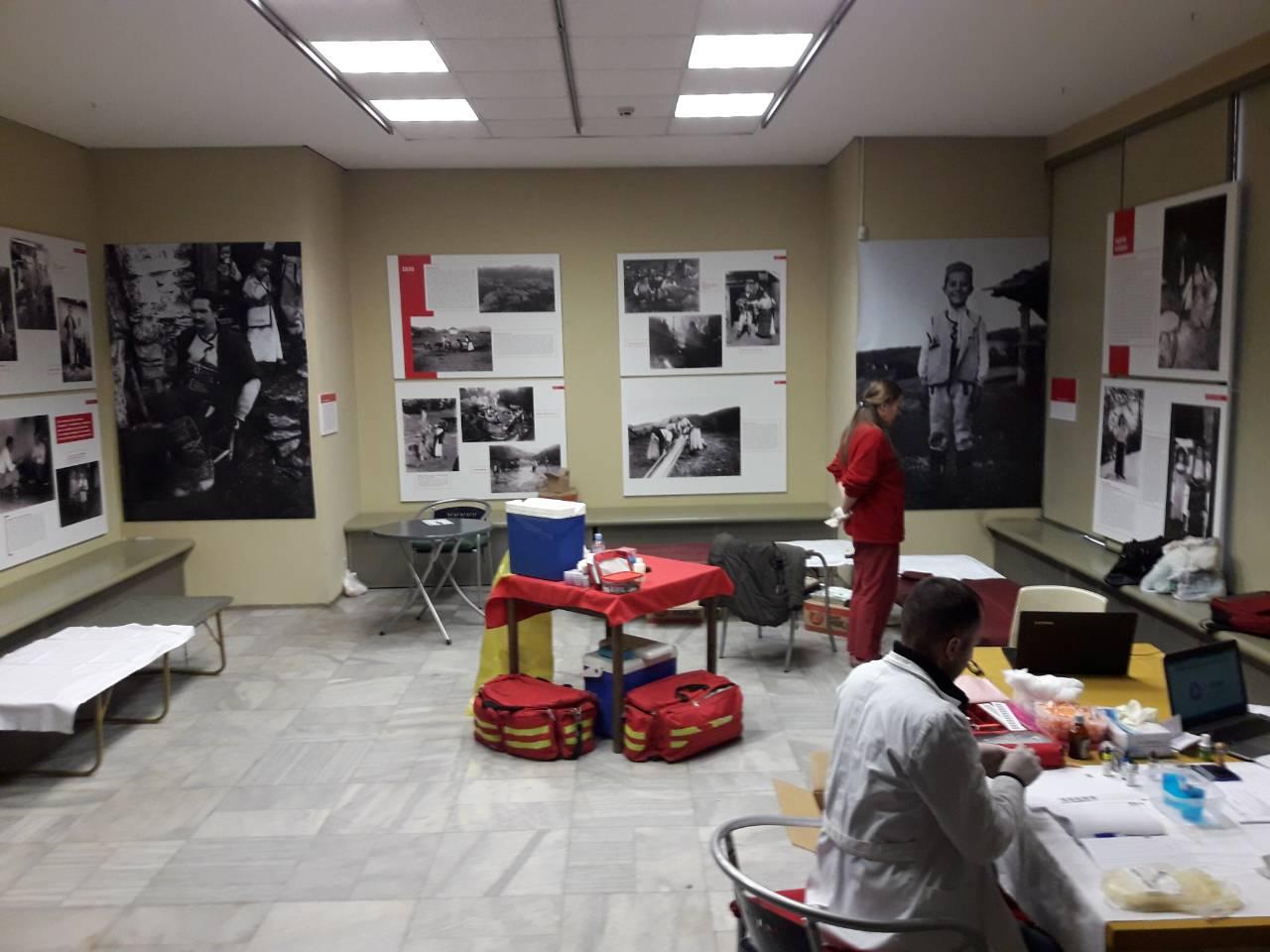 Крводарителска акција во Музејот на Македонија