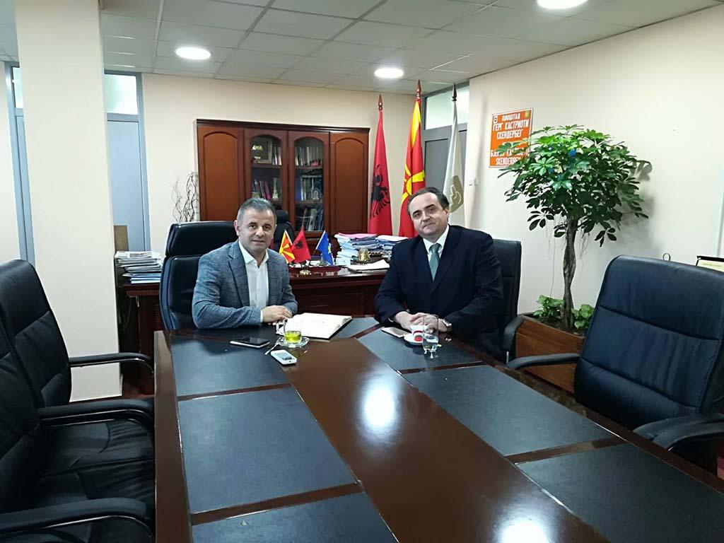 Средба со градоначалникот на Општина Чаир